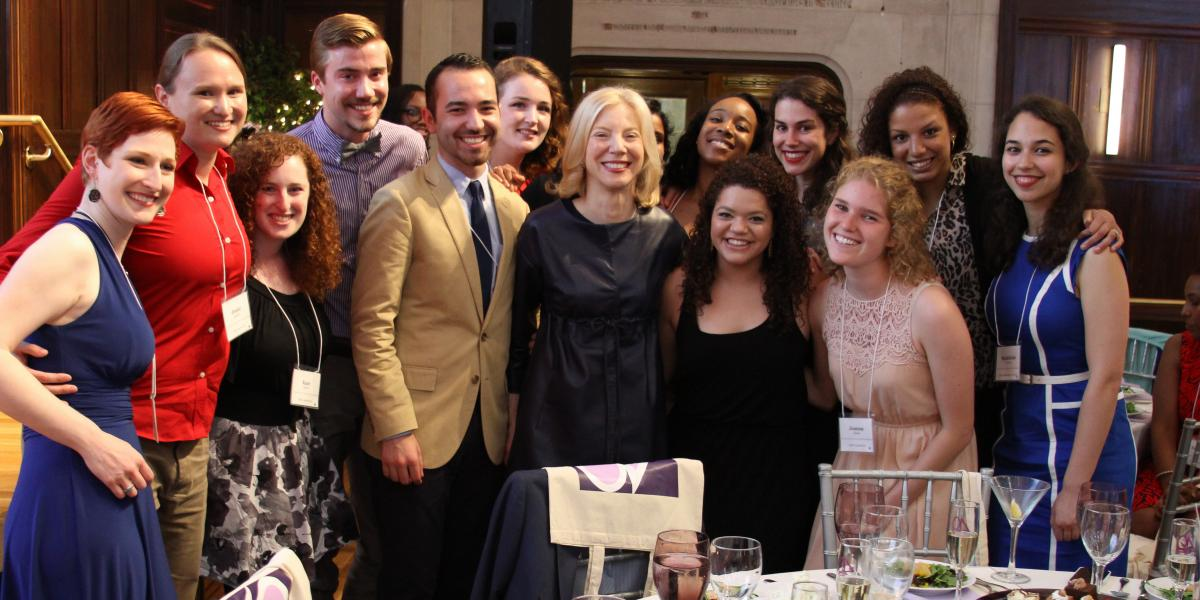 Dr. Gutmann, University of Pennsylvania, and students