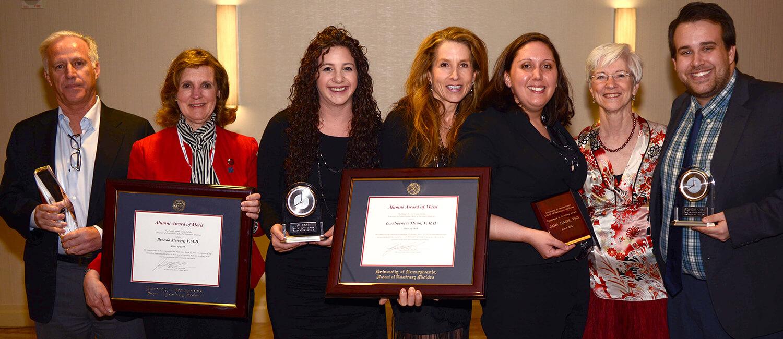 2015 Alumni Awards group at PAC