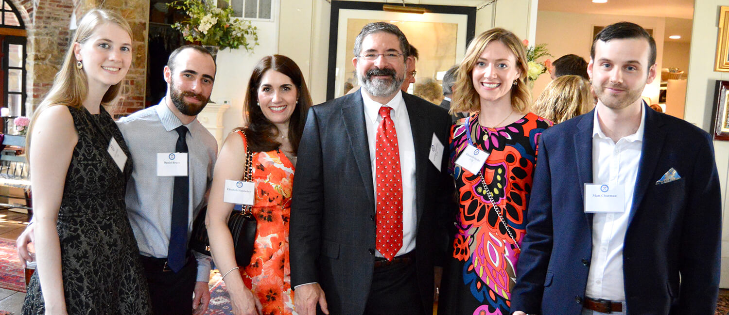 Opportunity Scholars with Donor Lindsay Shreiber EE'84, V'91