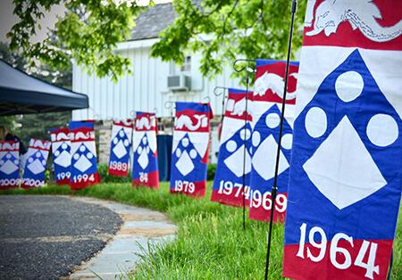 Penn Vet Class flags