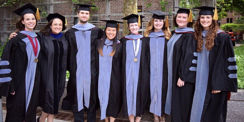 Penn Vet graduates Class of V'17