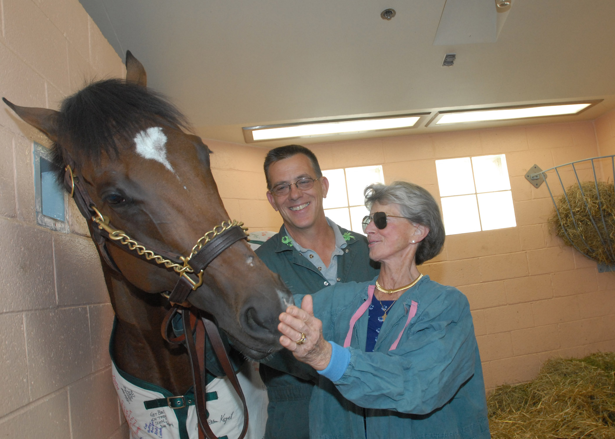 Barbaro, Dr. Richardson, Gretchen Jackson