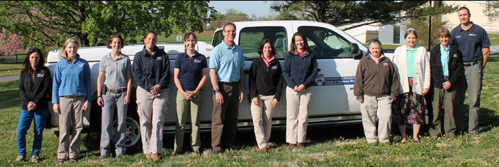 New Bolton Center's Field Service Team