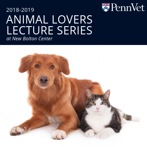 Join us for the Animal Lovers Lecture Series!
