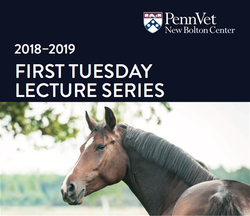 Join us at the 2018-2019 First Tuesday Lecture Series!
