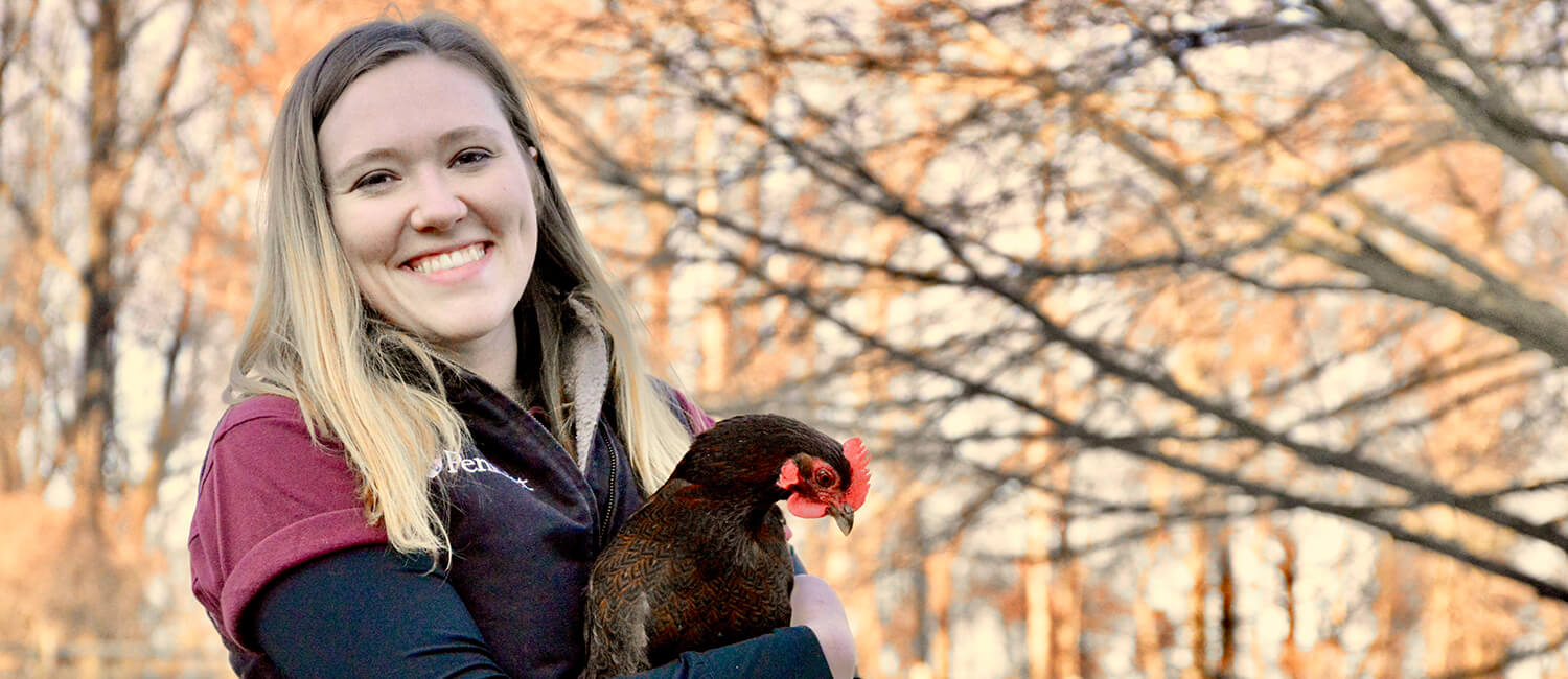 Linnea Tracy, V'19, believes birds are veterinary medicine's next frontier, and she wants to help chart the way.