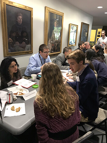 Experts in public health emergencies, from the Pennsylvania Department of Health, the Centers for Disease Control and Prevention, the Federal Bureau of Investigation and other agencies advised students during the event.