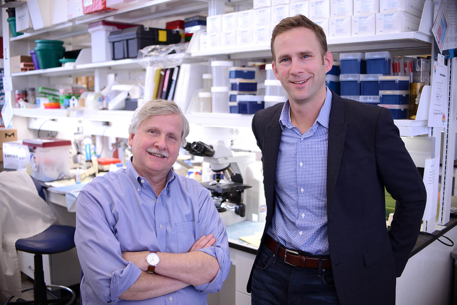 Phillip Scott and Daniel Beiting have collaborated for years on leishmaniasis, employing cutting-edge
