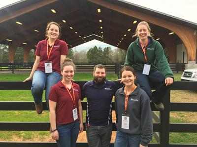 The 2019 Penn Vet Bovine Palpation Team