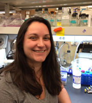 Anna Jones, Anguera Lab, Penn Vet