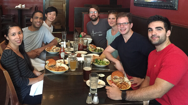 Vaughan Lab Lunch 2018