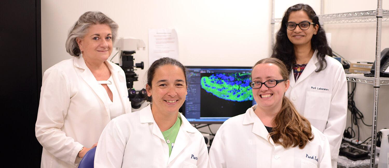 Dr. Ellen Puré and Penn Vet Cancer Center Team