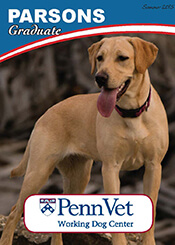 Parsons, Penn Vet Working Dog