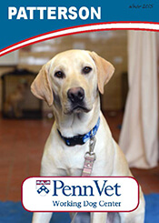 Patterson, Penn Vet Working Dog