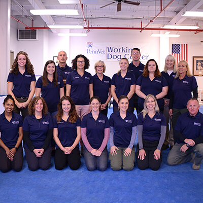 About Us - Working Dog Center staff