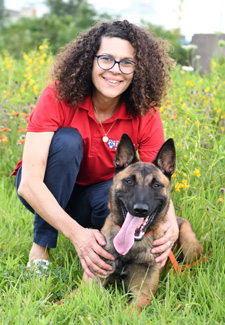 Dr Cindy Otto and Working Dog Blitz