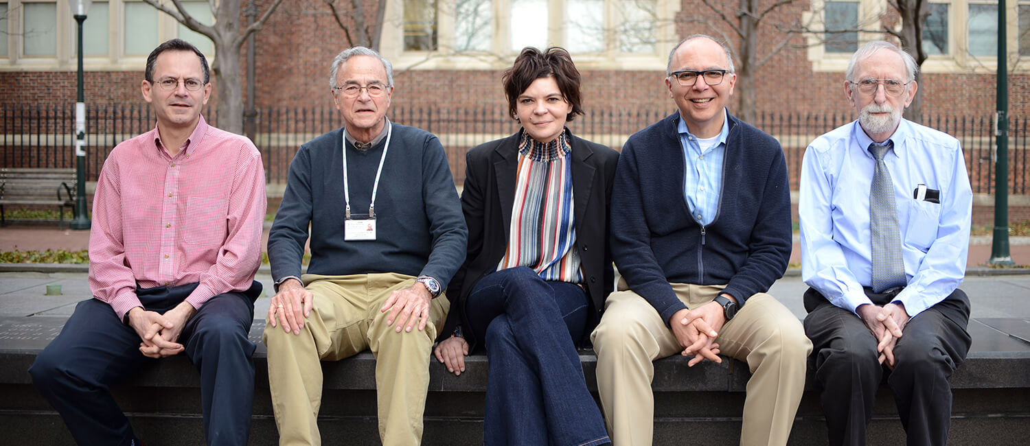 Ophtholmology team of Penn Vet and Penn Medicine researchers