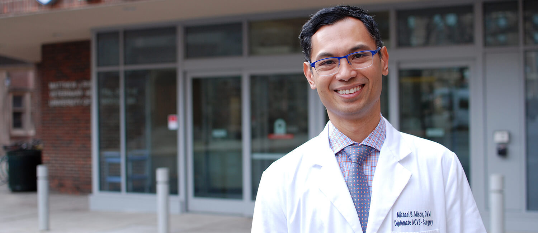 Meet Small Animal Surgeon Dr. Michael Mison