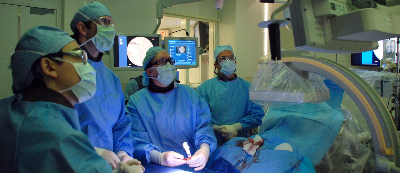 Ryan Interventional Radiology Team at work